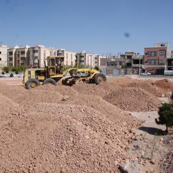 احداث پارک محله ای در شهرک اندیشه